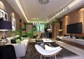 外滩玺园5#样板间现代风格设计案例